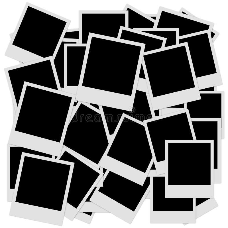 polaroid vector illustratie