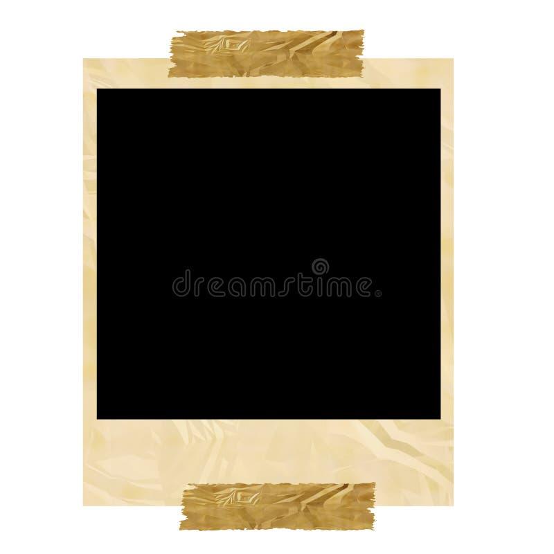 Polaroid ilustração stock