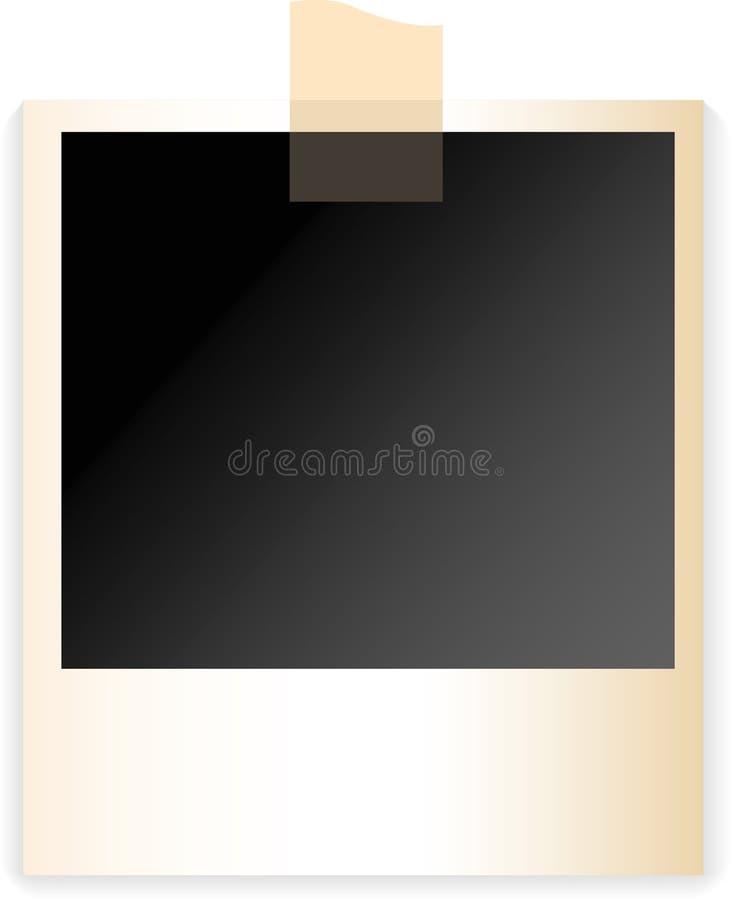 Polaroid ilustração royalty free
