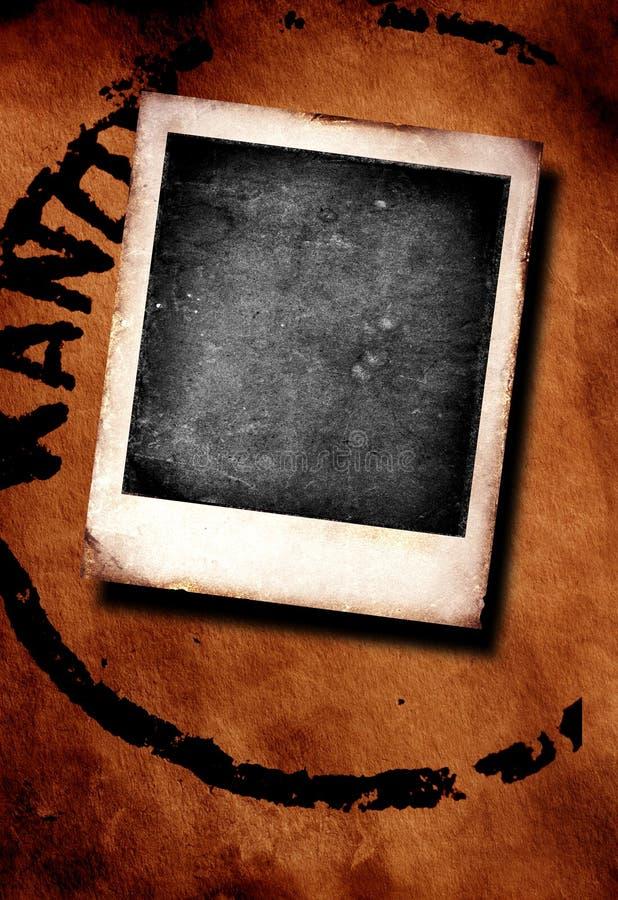 Polaroid stock de ilustración