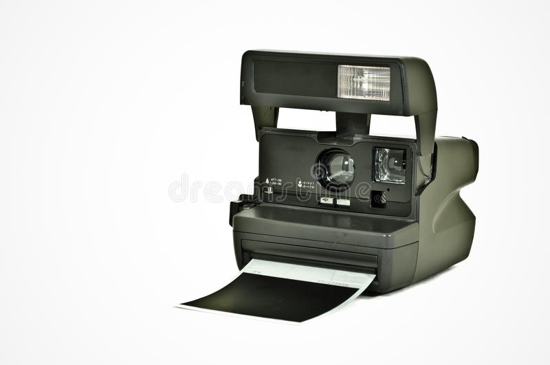 Download Polaroid Camera stock illustration. Image of impossible - 26749415