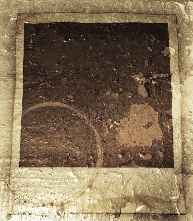 polaroid crunch obraz stock