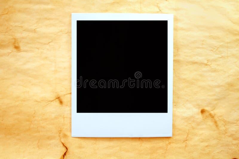 Polaroid de la vendimia imagen de archivo libre de regalías