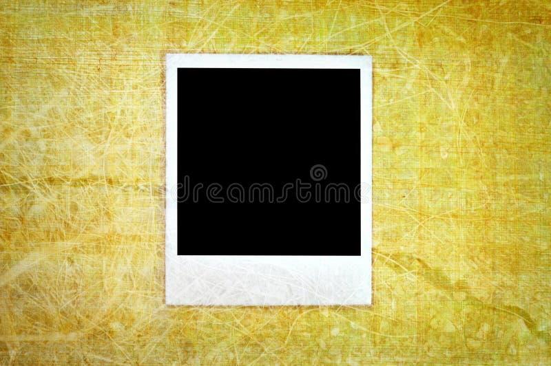 Polaroid de la vendimia fotografía de archivo libre de regalías
