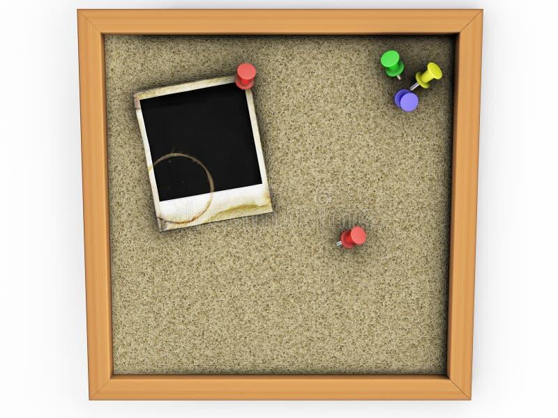 Polaroid di Grunge illustrazione di stock