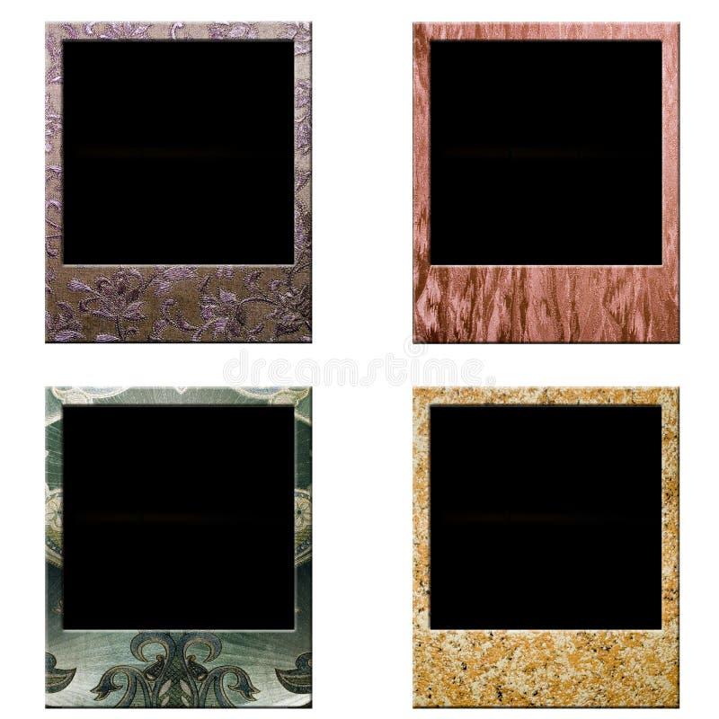Polaroid do quadro ilustração stock