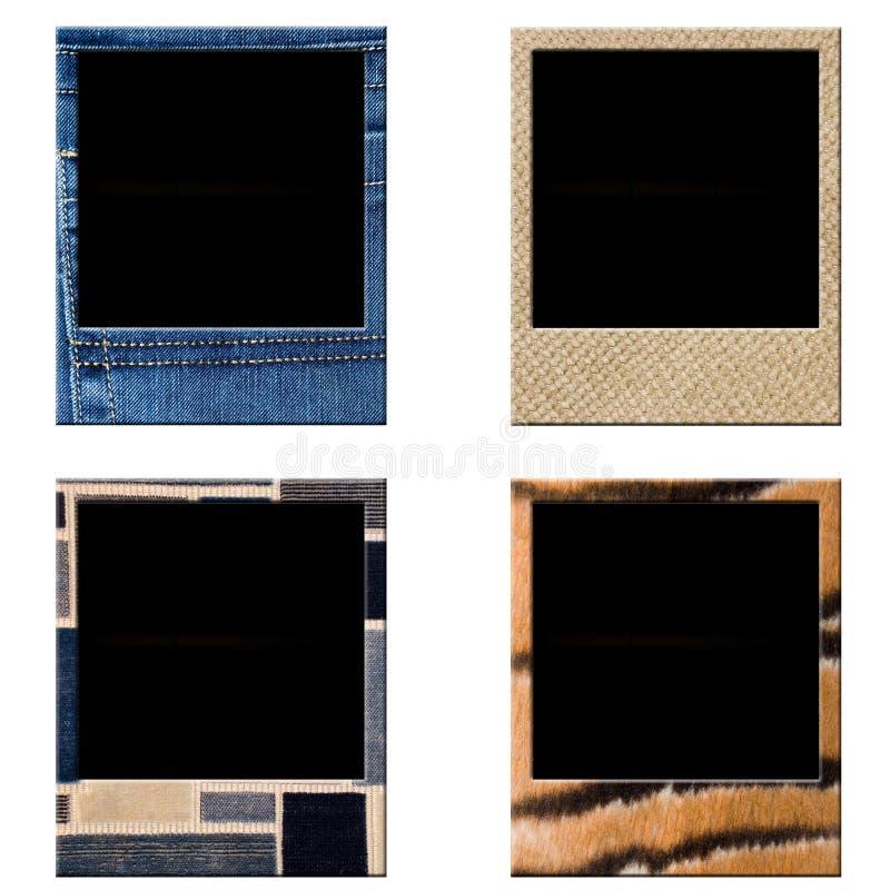 Polaroid do quadro imagem de stock