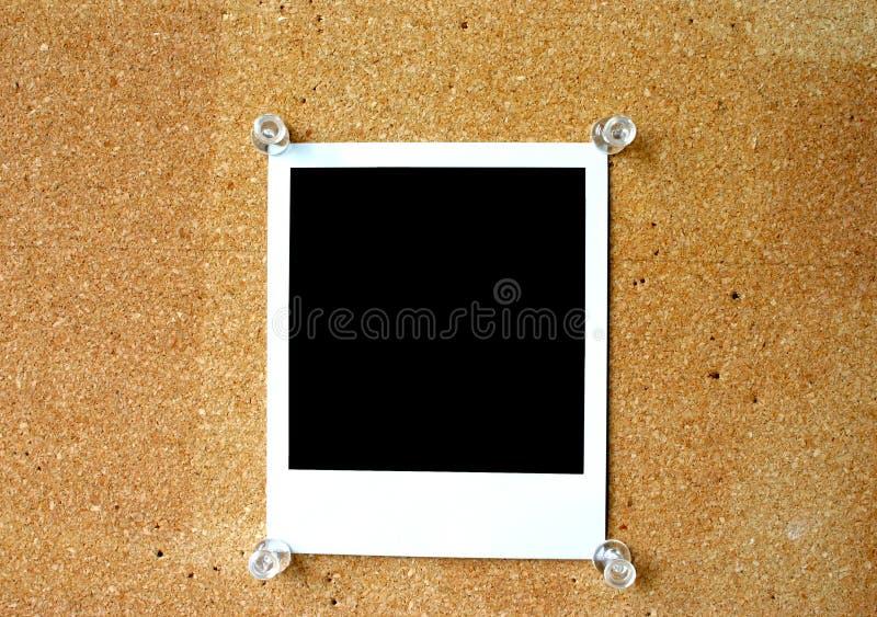 Polaroid en blanco #2 imágenes de archivo libres de regalías