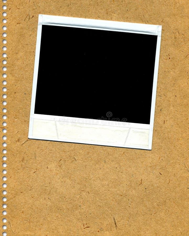 Polaroid en blanco imágenes de archivo libres de regalías