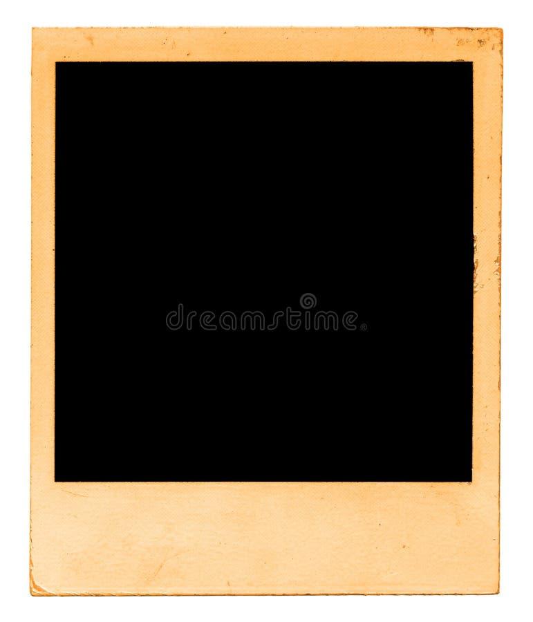 Polaroid envejecida imagen de archivo