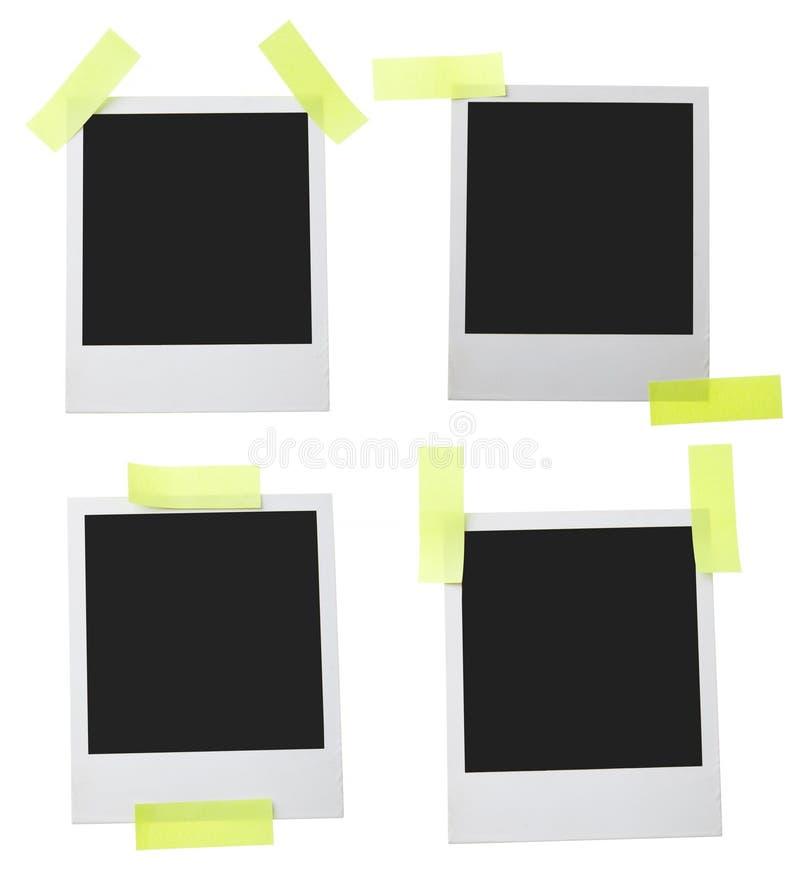 Polaroid envejecida del marco imagen de archivo libre de regalías