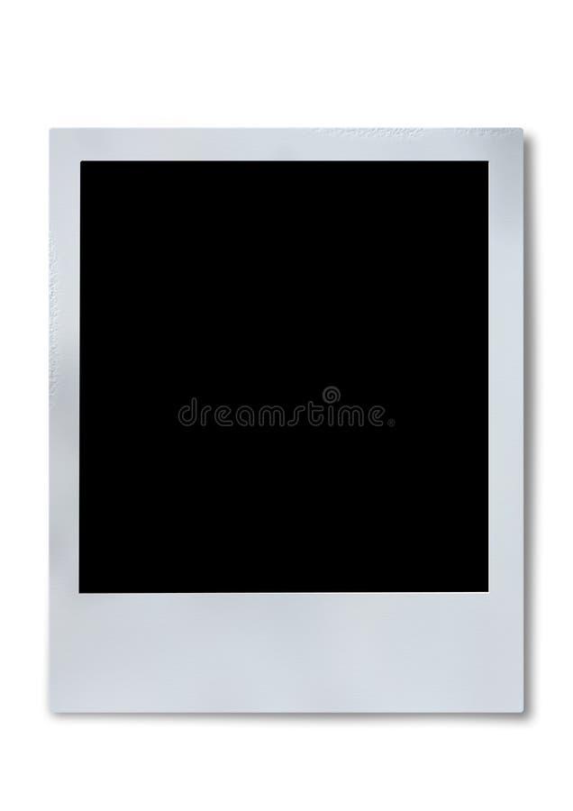 polaroid för filmram arkivbild