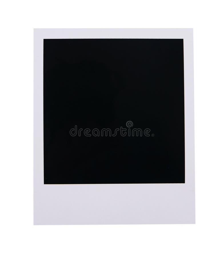 Polaroid film blank royalty free stock photos