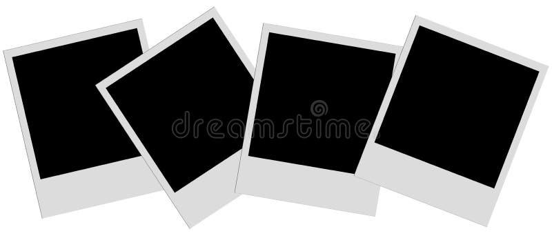 Polaroid- filmer royaltyfria foton