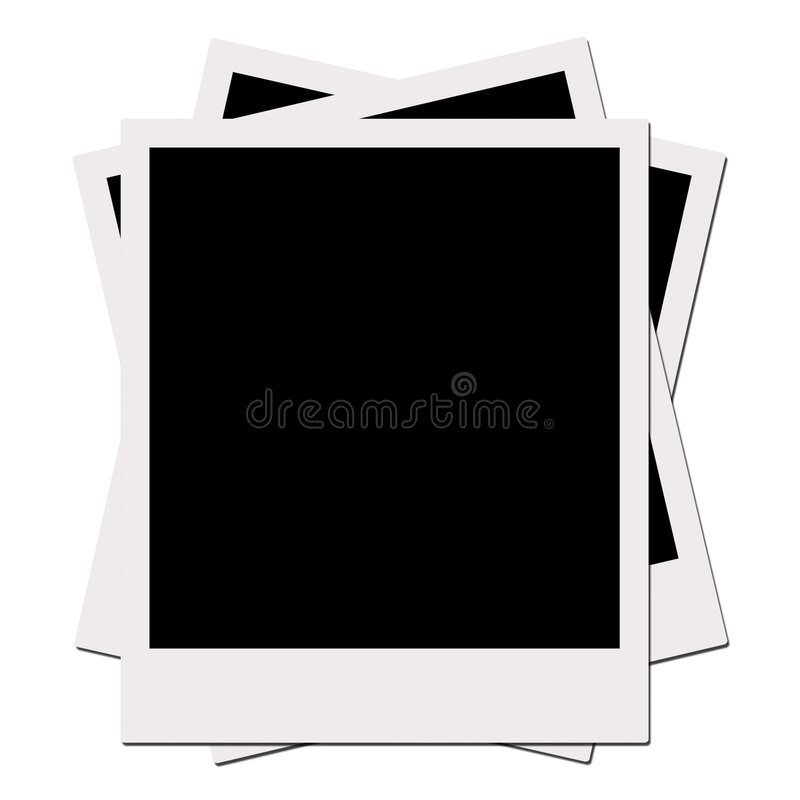 Download Polaroid Films (with Clipping Path) Stock Image - Image: 401969