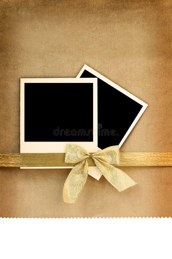 Polaroid- fotoframe stock foto