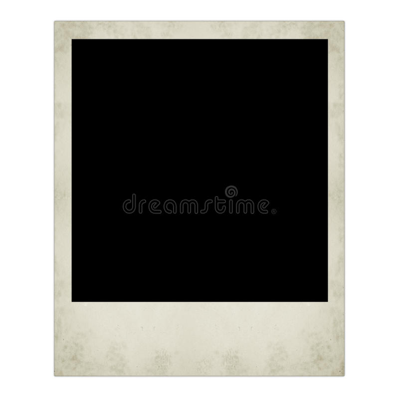Polaroid fotografia odizolowywająca zdjęcie royalty free