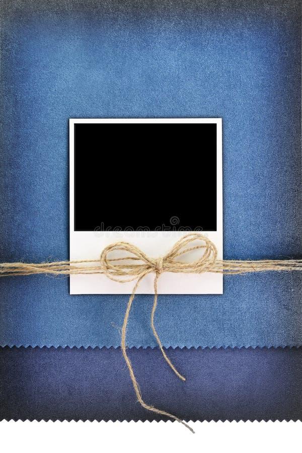 Polaroid fotografii rama obraz stock
