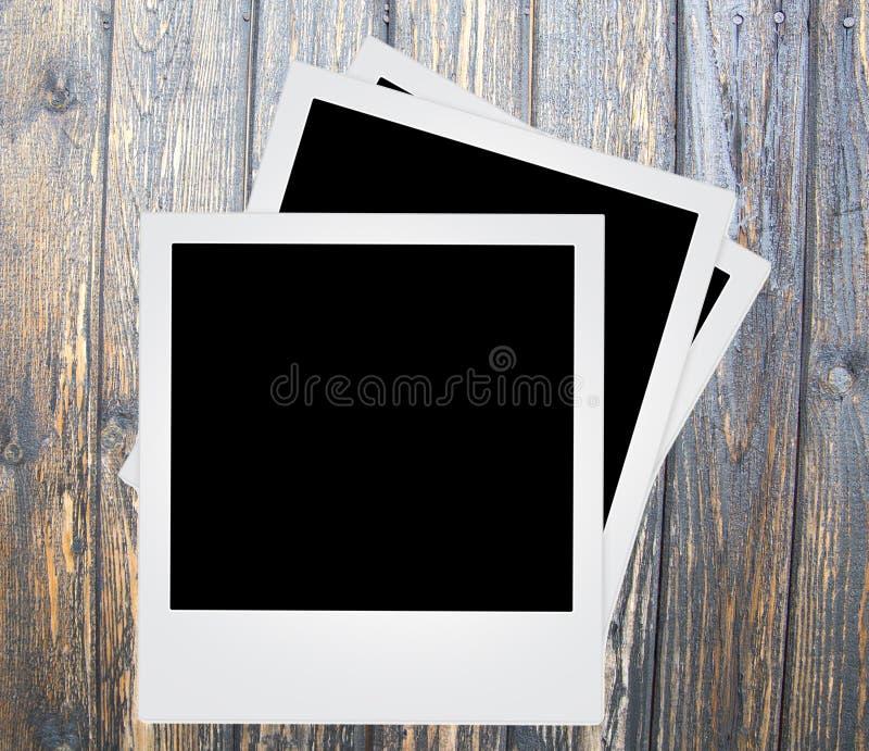 Polaroid- fotokader stock foto's