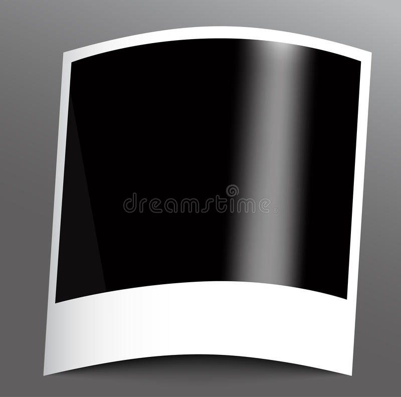 Polaroid- fotokader royalty-vrije illustratie