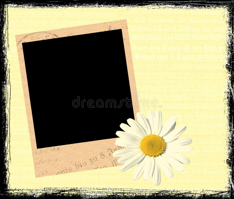 Download Polaroid frame stock illustration. Illustration of journal - 16485560