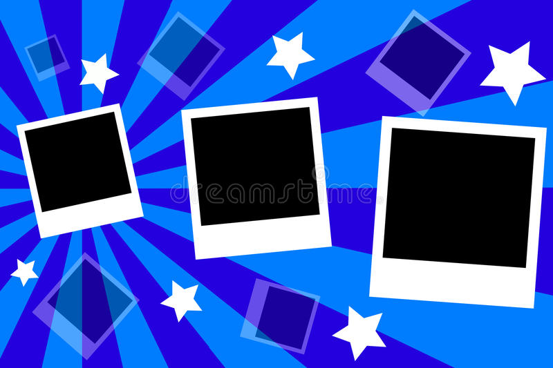Download Polaroid Frame stock vector. Image of frame, single, shots - 27171883
