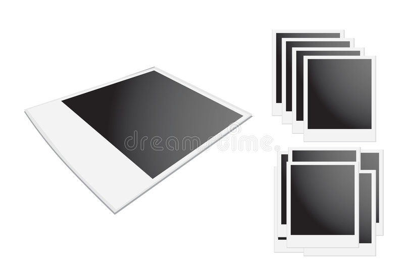 Download Polaroid Frame stock vector. Image of good, instant, isolated - 4089064