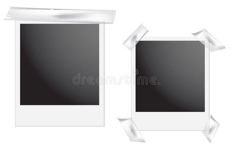 Polaroid- Frame royalty-vrije illustratie