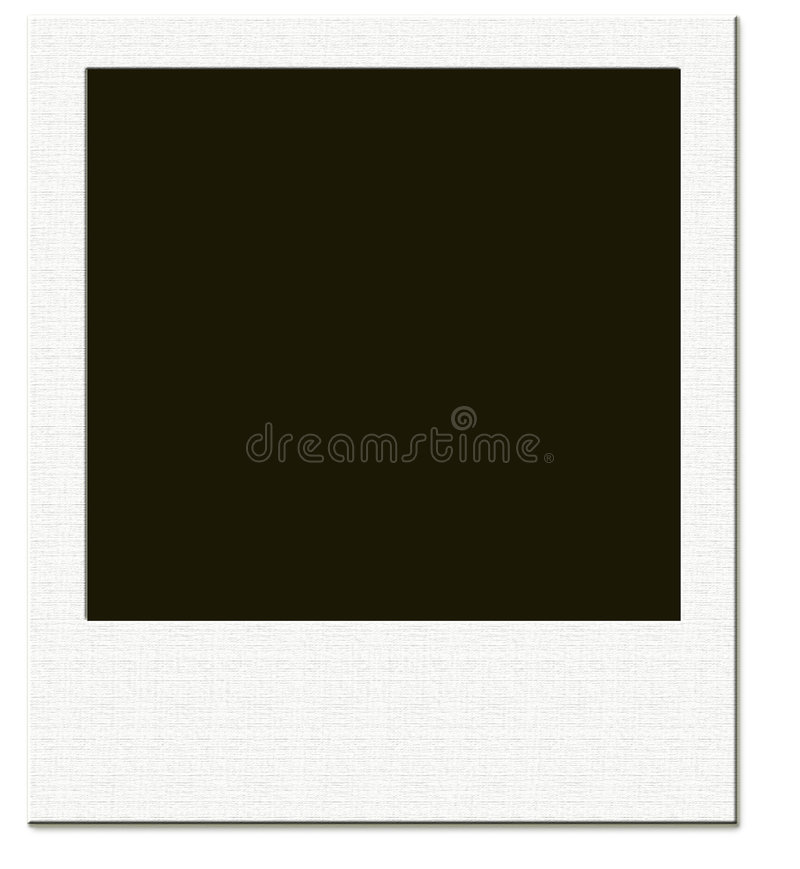 Download Polaroid frame stock illustration. Image of expose, flare - 4873807