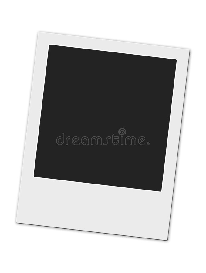 Polaroid frame royalty free stock image