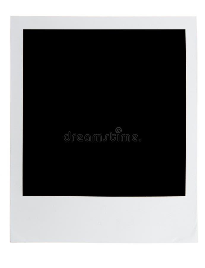 Polaroid Frame stock image