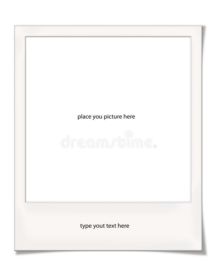 Download Polaroid Frame With Shadows Royalty Free Stock Photography - Image: 11540097