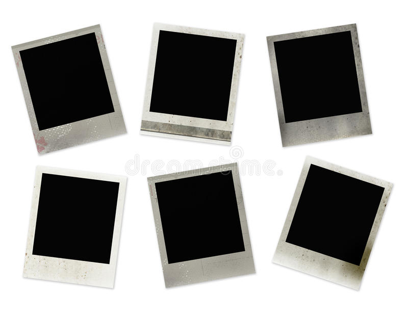 Download Polaroid frames stock photo. Image of damaged, photograph - 11104458