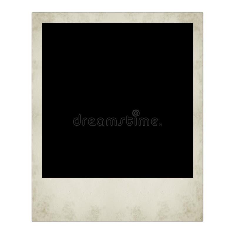Polaroid- geïsoleerde foto royalty-vrije stock foto