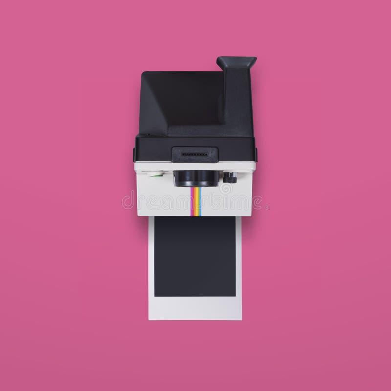 Polaroid- kamera royaltyfria foton