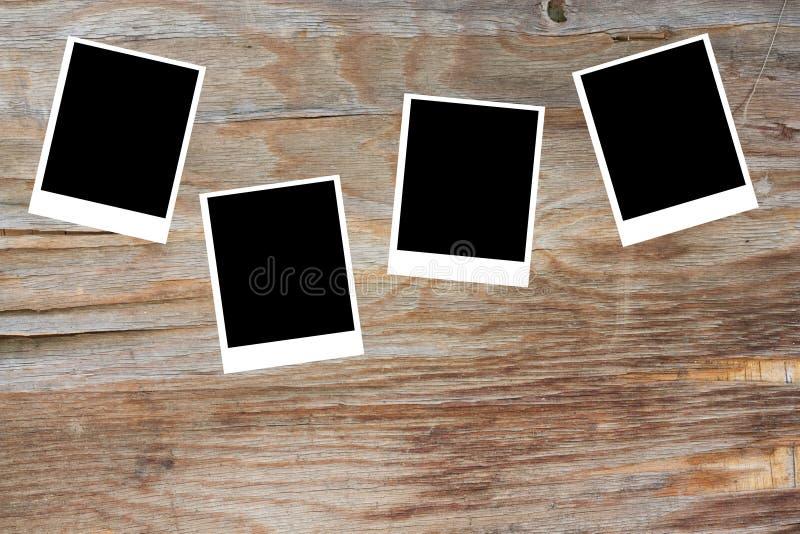 Polaroid klasyczna stara fotografia obraz stock