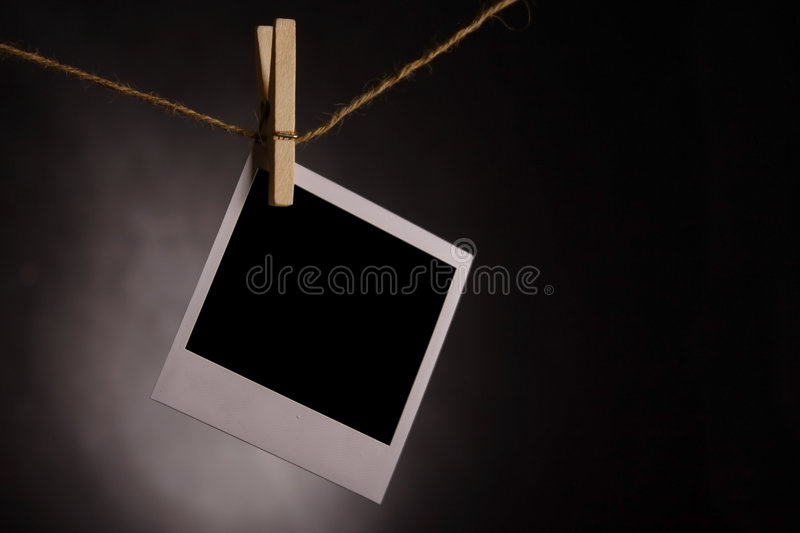 Download Polaroid photo stock photo. Image of empty, polaroid, frame - 6219128