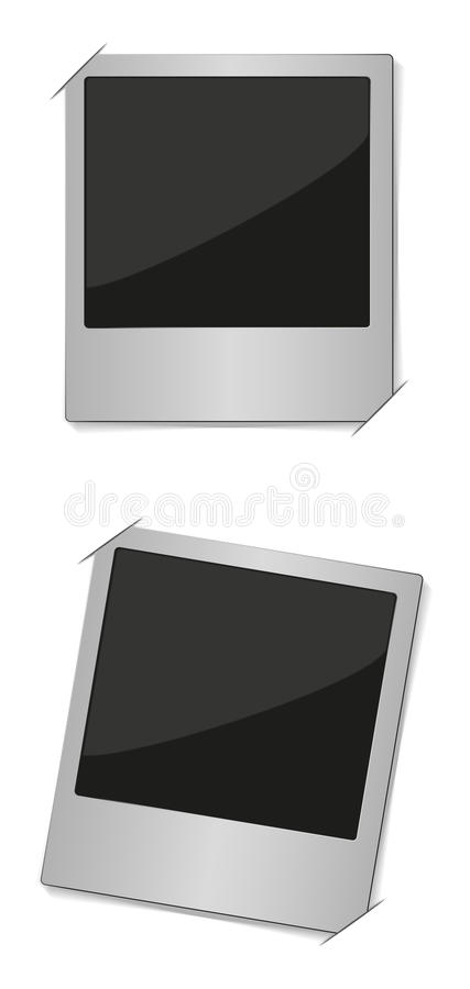 Download Polaroid Photo in Album stock vector. Image of copy, photo - 28619739
