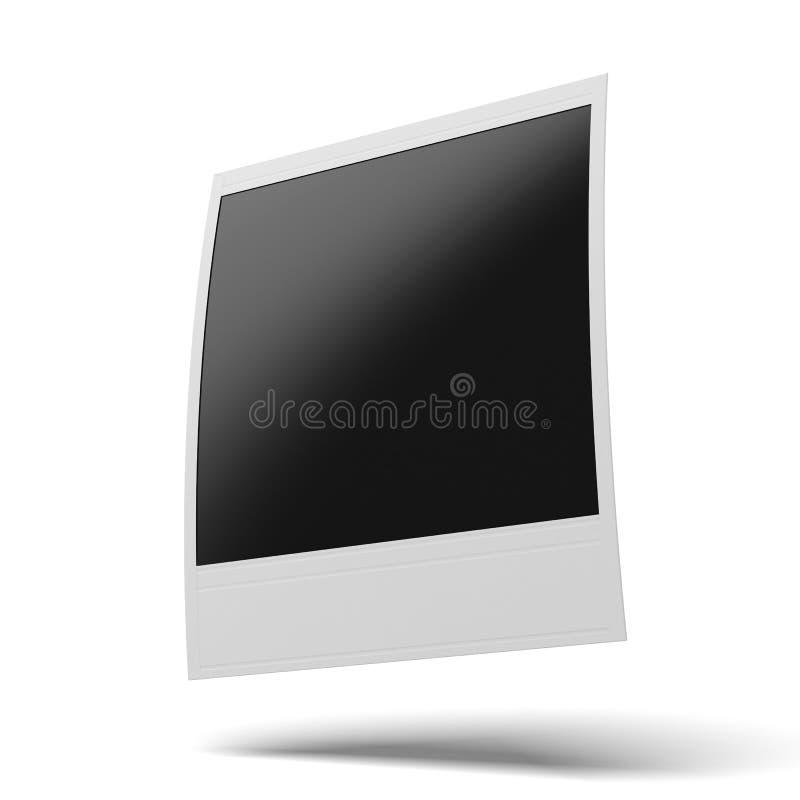 Polaroid photo frame royalty free illustration