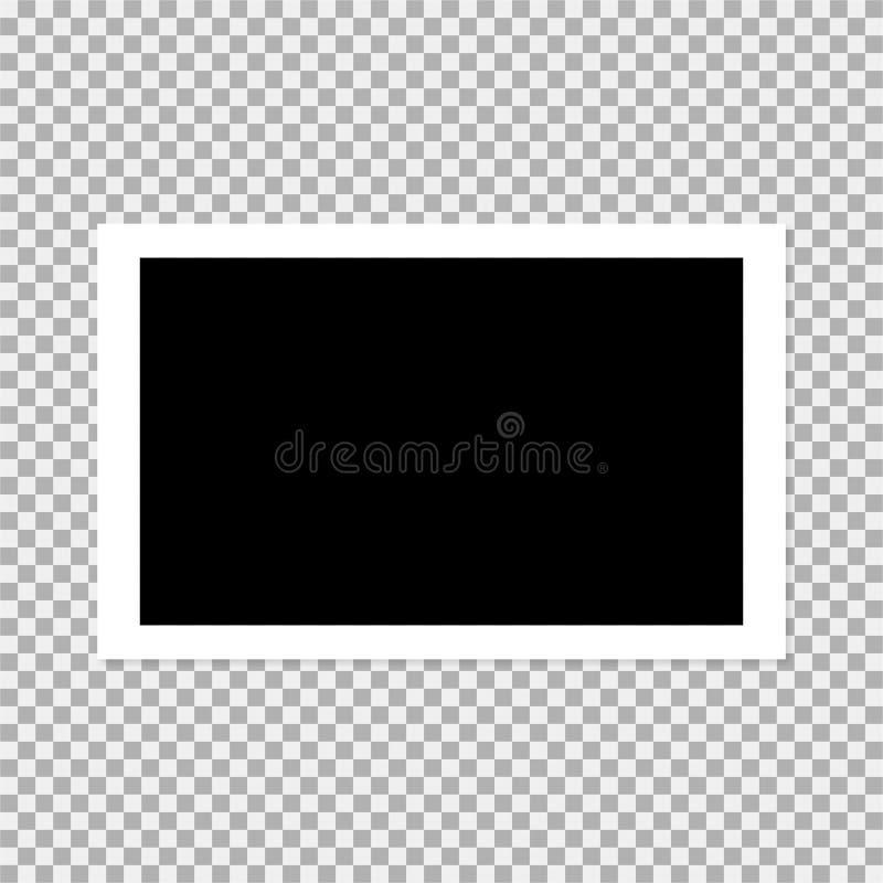 polaroid photo frame vector illustration 3 vector illustration