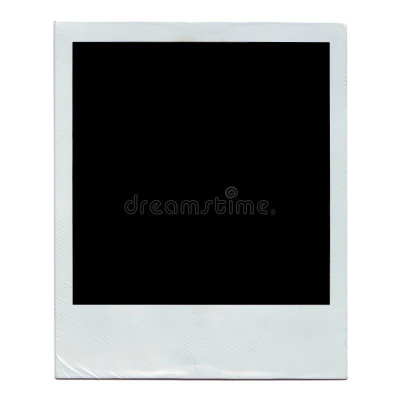 Polaroid photograph stock photo