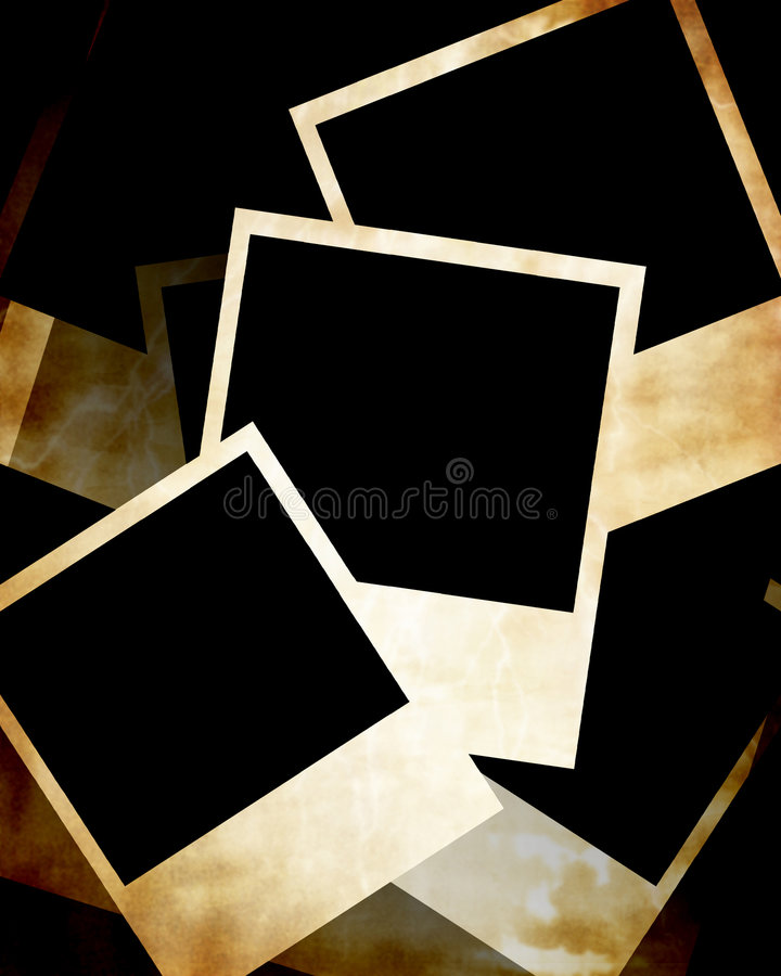 Polaroid ramy ilustracji