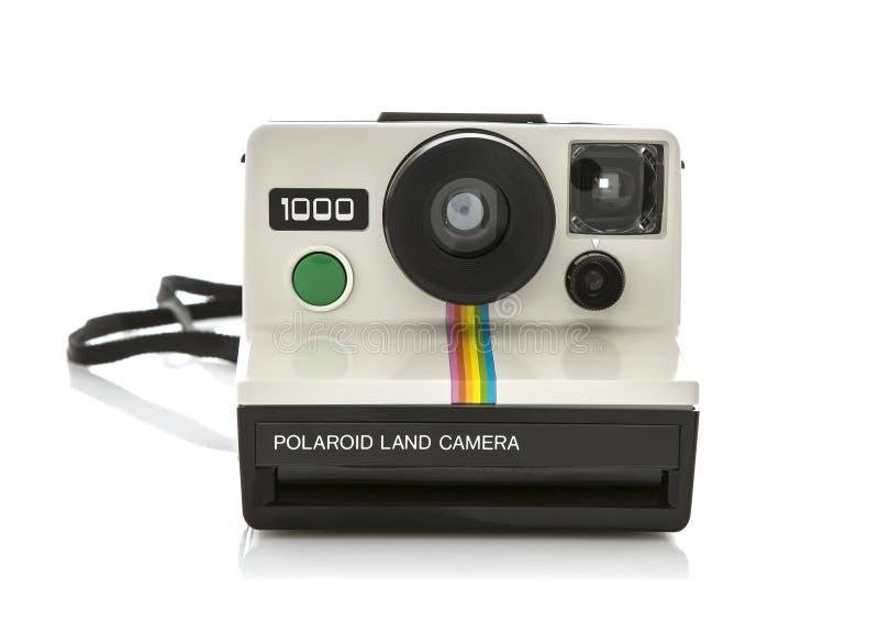 Polaroid sofortige Kamera stockfotos