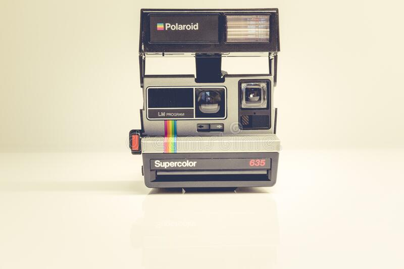 Polaroid Supercolor 635 Cmaera Free Public Domain Cc0 Image