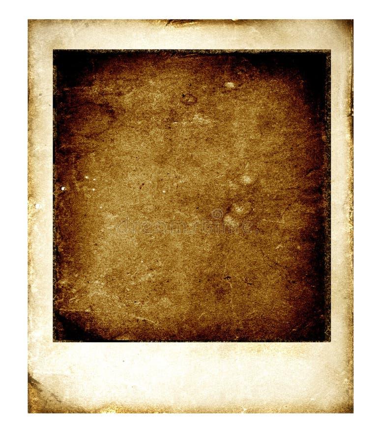 Polaroid velho ilustração stock