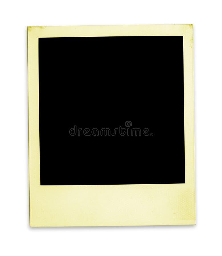 Polaroid velho (trajeto de +clipping, XXL) imagem de stock royalty free