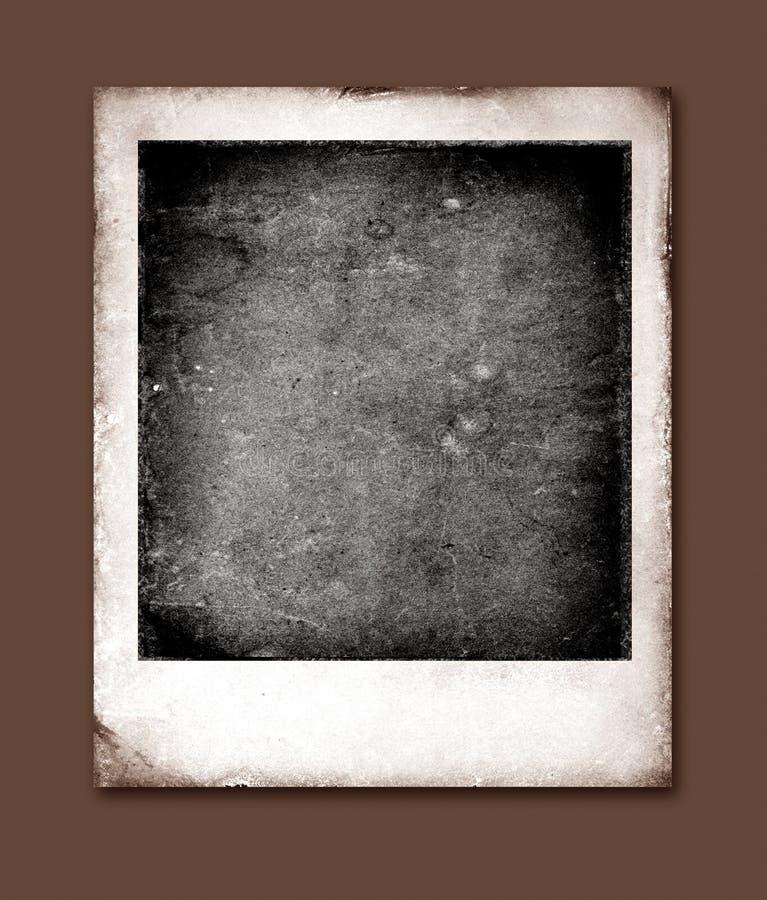 Polaroid vieja stock de ilustración. Ilustración de cuadro - 7929636