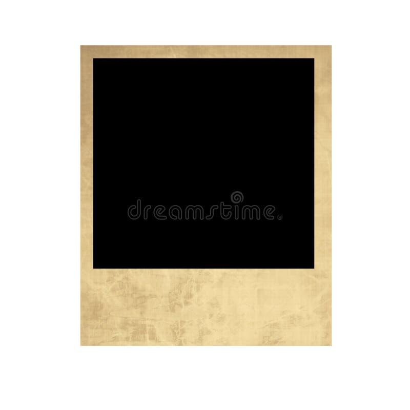 Polaroid vieja aislada stock de ilustración. Ilustración de ...