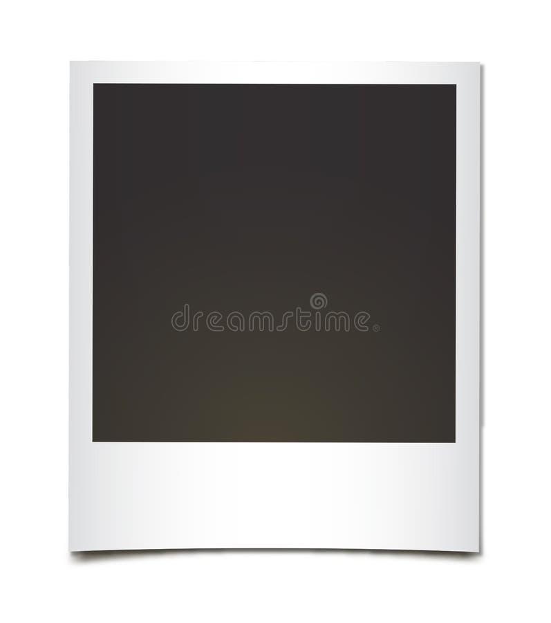 Polaroidcamera royalty-vrije illustratie