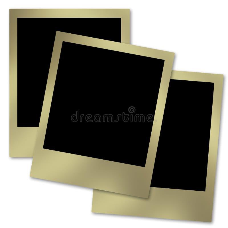 Polaroidcamera's vector illustratie